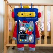 Robot Organizer Crochet Pattern