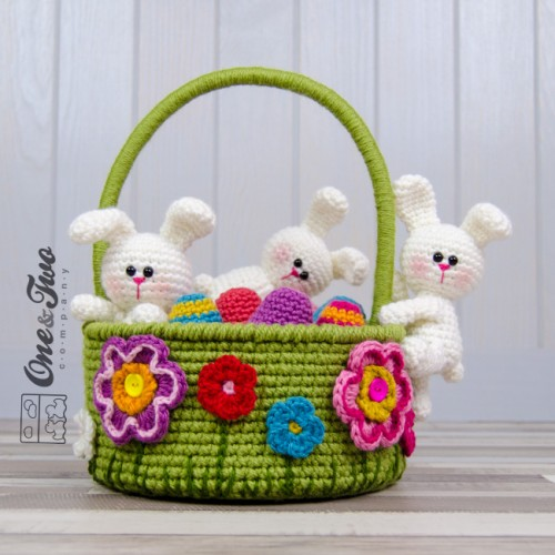 Top 54 Free Easter Crochet patterns - Gathered | 500x500