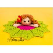 Mya the Hawaiian Girl Lovey and Amigurumi Crochet Patterns Pack