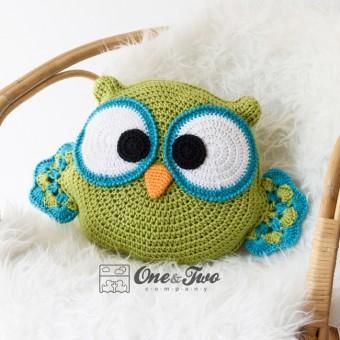 Ollie the Owl Pillow Crochet Pattern
