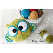 Ollie the Owl Pillow Crochet Pattern