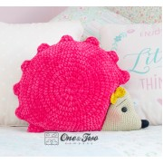 Pixie the Hedgehog Pillow Crochet Pattern