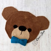 Teddy Bear Rug Crochet Pattern