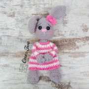 Bo the Bunny Cuddler Crochet Pattern