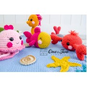 Adventure under the Sea Playset Crochet Pattern
