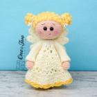 Annie the Angel Security Blanket Crochet Pattern