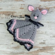 Brook the Tiny Bat Lovey and Amigurumi Crochet Patterns Pack