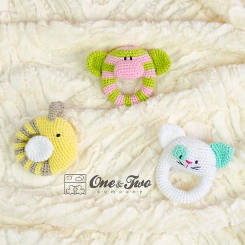 Butterfly Baby Rattle: Free Crochet Pattern | Free Crochet Patterns | 500x500