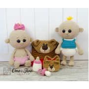 Lucy and Linus the Baby Twins Crochet Pattern
