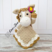 Haley the Horse Lovey and Amigurumi Crochet Patterns Pack