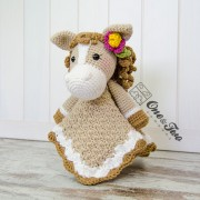 Haley the Horse Security Blanket Crochet Pattern