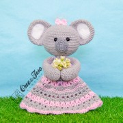 Kira the Koala Lovey and Amigurumi Crochet Patterns Pack - Dutch Version
