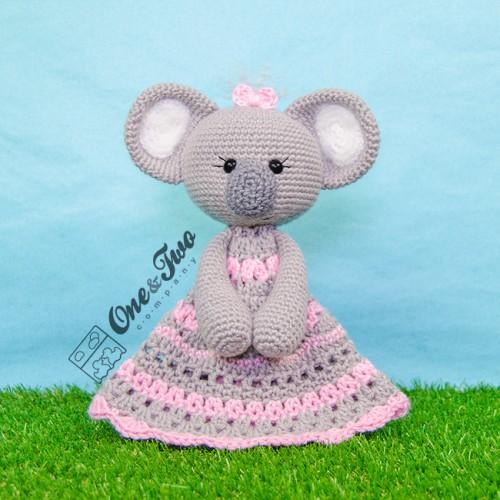 Kira The Koala Security Blanket Crochet Pattern English Version