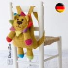 Logan the Lion Backpack Crochet Pattern - German Version