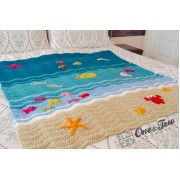 Sealife Blanket Crochet Pattern