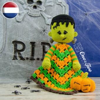 Frankie Security Blanket Crochet Pattern - Dutch Version