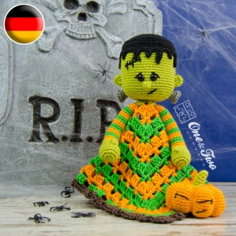 Frankie Security Blanket Crochet Pattern - German Version