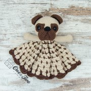 Hiro the Pug Lovey and Amigurumi Crochet Patterns Pack - German Version