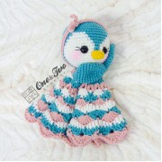 Priscilla the Sweet Penguin Lovey and Amigurumi Crochet Patterns Pack - Dutch Version
