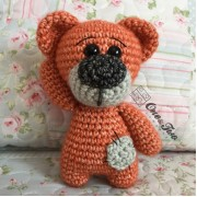 Patches the Little Teddy Bear Toy - Finished Item