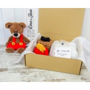 Ben the Teddy Bear Cuddler - DIY Crochet KIT