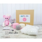Kissie the Kitty and Skip the Mouse Amigurumi - DIY Crochet KIT