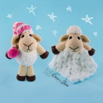Chloe the Sheep Lovey and Amigurumi Crochet Patterns Pack