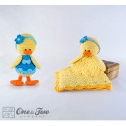 Duck Lovey and Amigurumi Crochet Patterns Pack