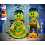Frankie Lovey and Amigurumi Crochet Patterns Pack - English, Dutch, German