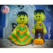 Frankie Lovey and Amigurumi Crochet Patterns Pack - English Version
