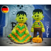 Frankie Lovey and Amigurumi Crochet Patterns Pack - German Version