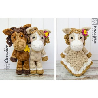 Horse Amigurumi Crochet Tutorial Part 2 - YouTube | 340x340