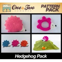 Hedgehog Crochet Patterns Pack