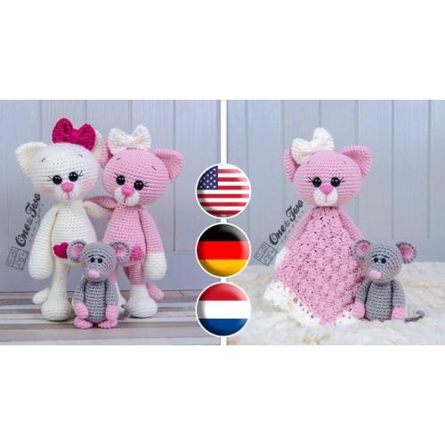 Ravelry: Mouse Cat Toy (No sew!) pattern by Yvonne Da Silva | 500x500