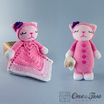 Kitty Lovey and Amigurumi Crochet Patterns Pack