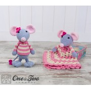 Emily the Mouse Lovey and Amigurumi Crochet Patterns Pack