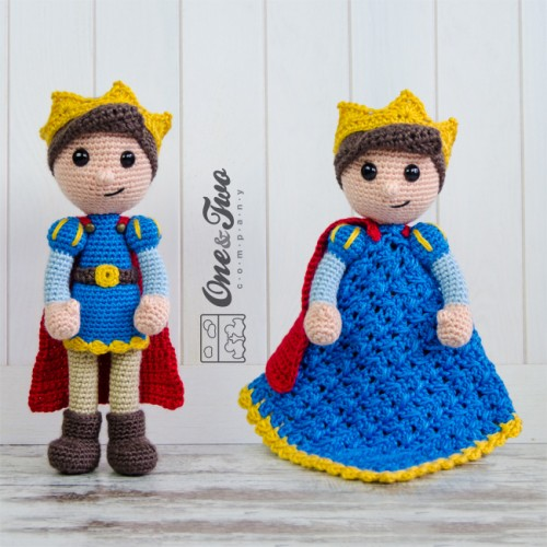 Prince Tristan Lovey and Amigurumi Crochet Patterns Pack