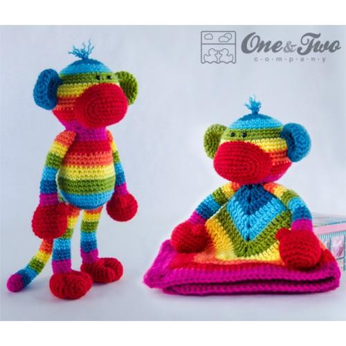 Amigurumi Pattern Monkey Crochet Pattern Amigurumi Animal | Etsy | 500x500