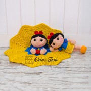 Snow White Lovey and Amigurumi Crochet Patterns Pack