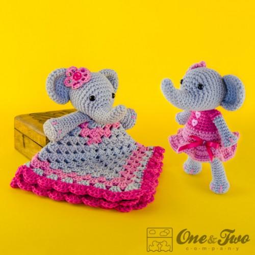 Elephant Lovey and Amigurumi Crochet Patterns Pack - photo#30