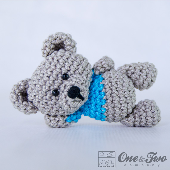 Free Crochet Mini Teddy Bear Pattern : Crochet Tiny Amigurumi Teddy Bear Free Crochet Patterns ...